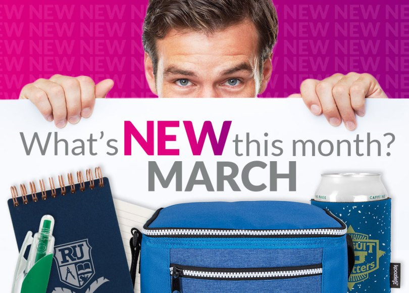 What's NEW this month? MARCH
