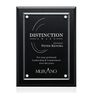 "Ulster Plaque - Black 10½""x13"""
