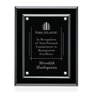 "Lexicon Plaque - Black/Silver 8""x10"""