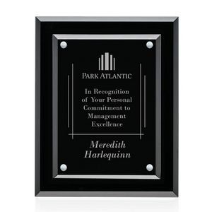 "Lexicon Plaque - Black/Silver 7""x9"""
